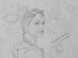 Angelina Jolie AKA Lara Croft