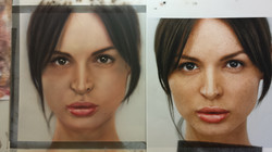un-named portrait 2014 (Airbrush)