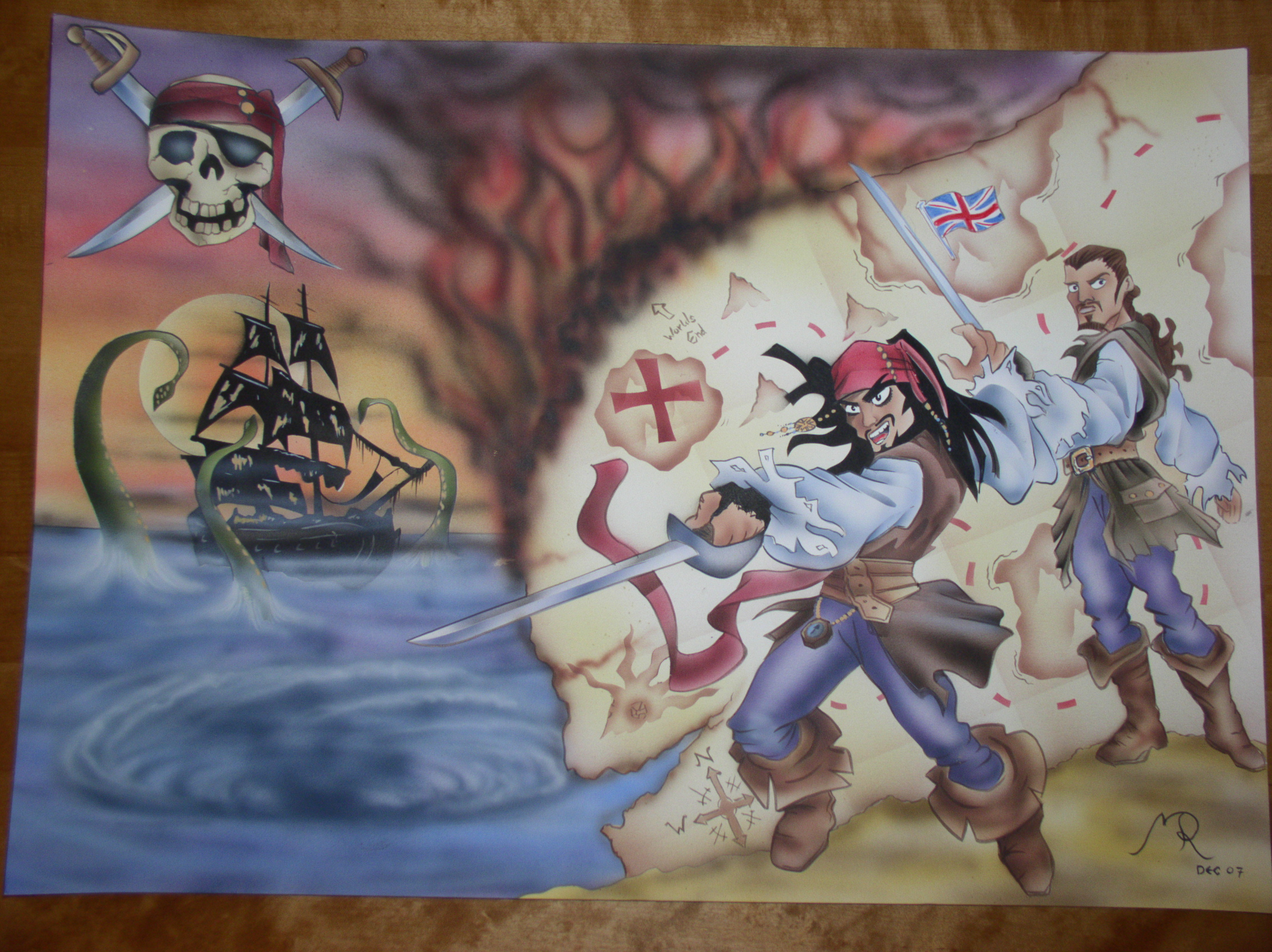 Pirates (Airbrush)
