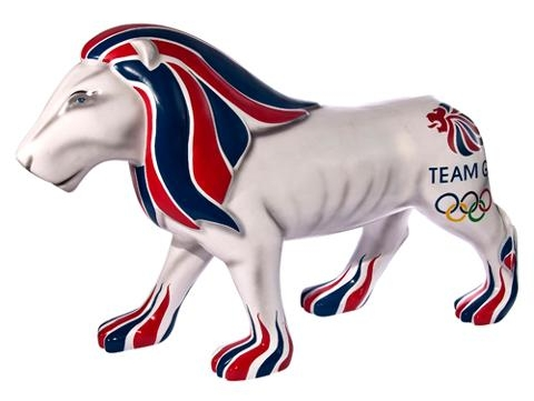 Team GB lion 2012