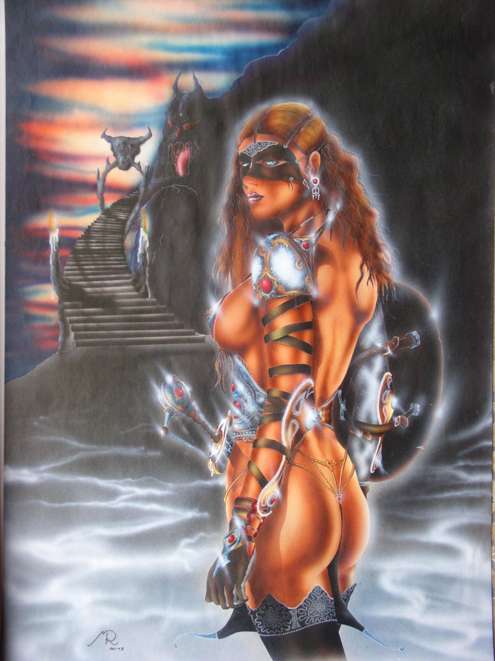 Tarna 1993 (Airbrush)