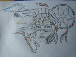 Indian Tattoo Design