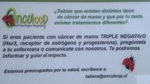 Buscamos Pacientes con Cáncer de Mama TRIPLE NEGATIVO. Contáctanos!!!