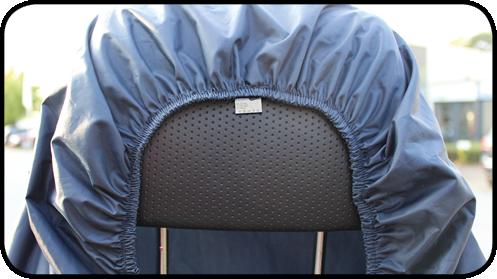 Abdeckung für Kopfstützen von Scootern