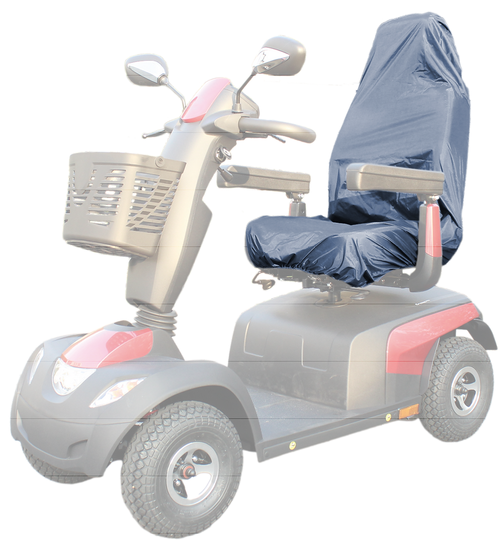 Seat cover for mobility scooters