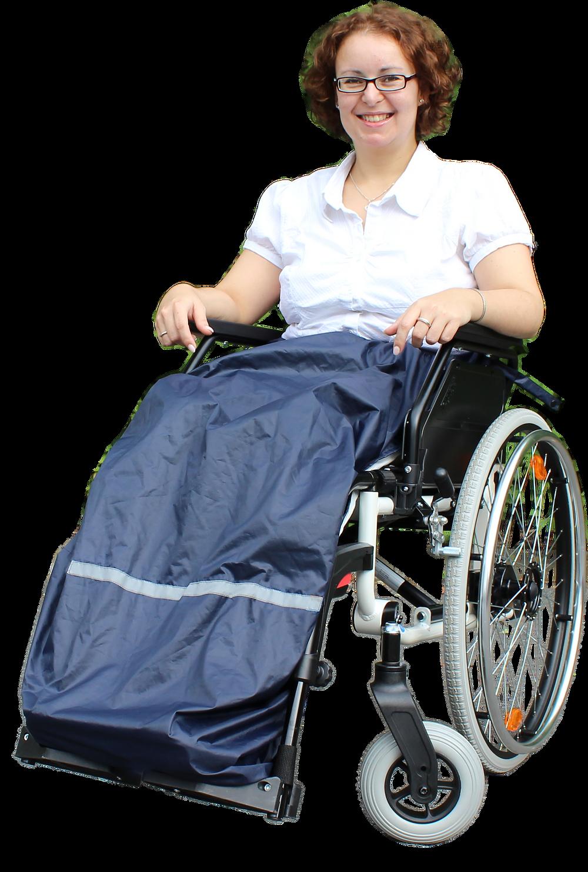 Thermoschürze für Rollstuhlfahrer