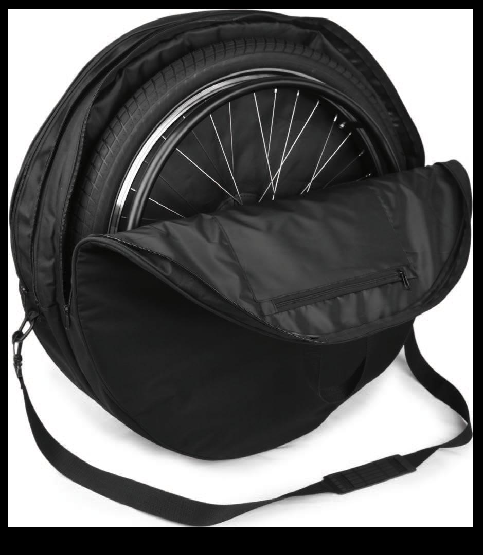 Transporttasche für Rollstuhl-Speichenräder