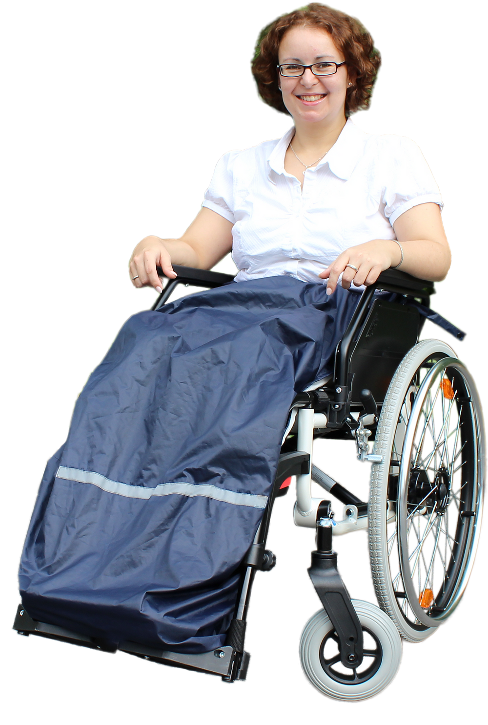 Thermal apron for Wheelchair Users