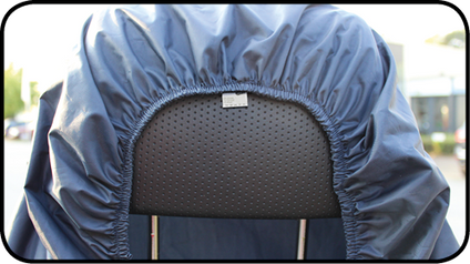 Scooter head rest cover
