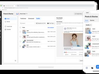 Stories plannen op Facebook en Instagram met Facebook Business Suite