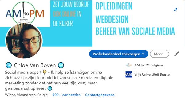 LinkedIn, LinkedIn profiel, persoonlijk, profielfoto, omslag, kopregel