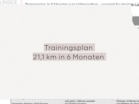 Trainingsplan für Laufanfänger: In 6 Monaten zum Halbmarathon