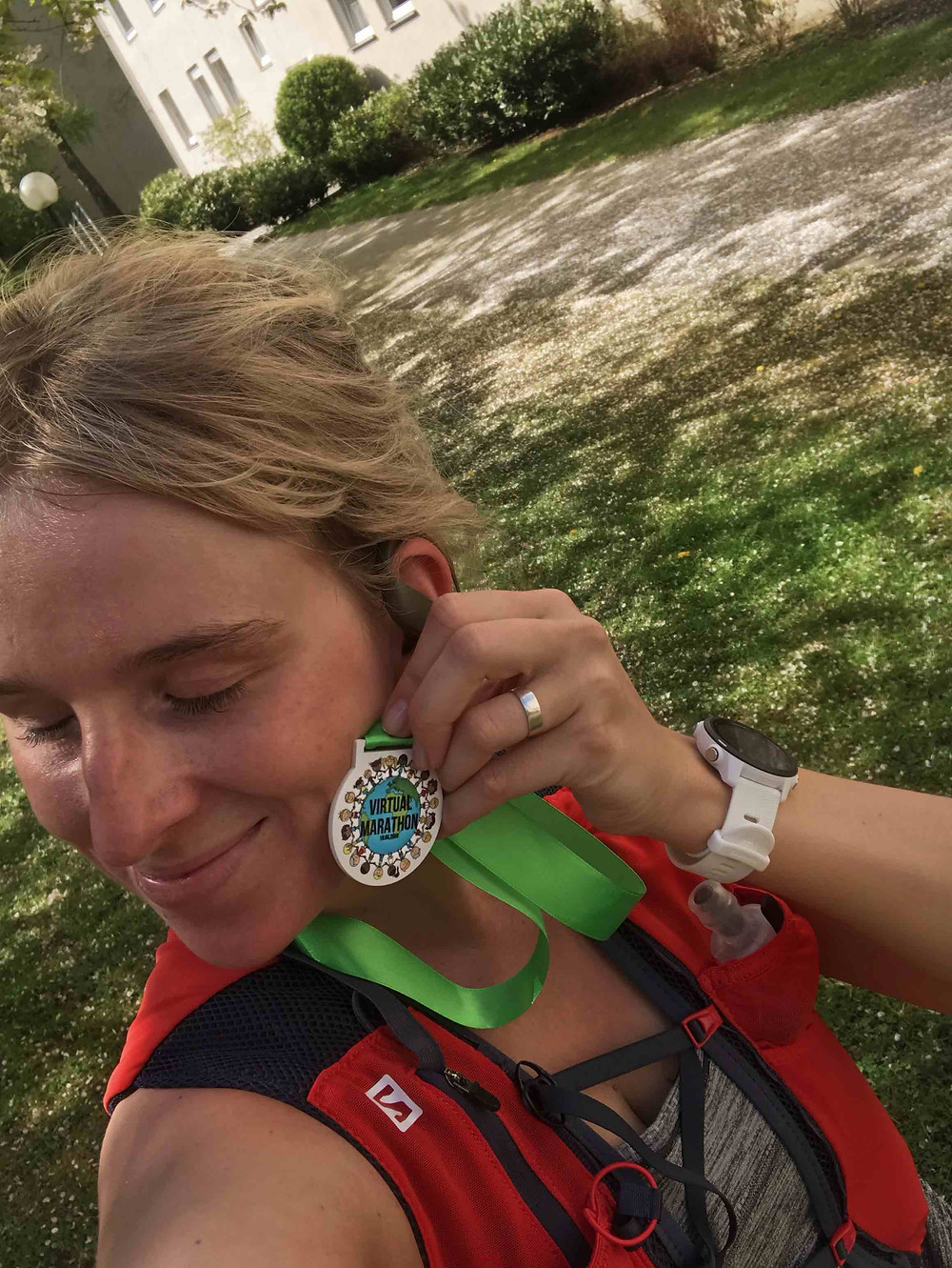 Finisher Medaille virtual run