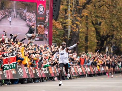 Eluid Kipchoge läuft den Marathon in unter 2 Stunden – was das für uns Läufer bedeutet