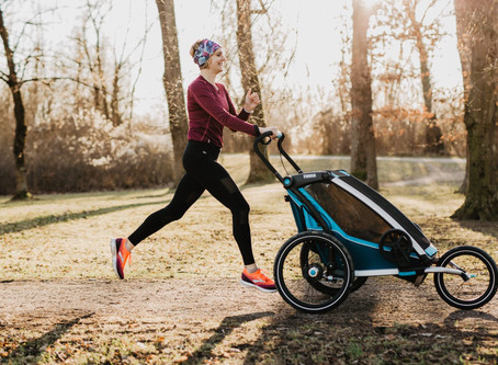 Übers Laufen mit Kind und die Herausforderungen der Laufroutine einer Mama