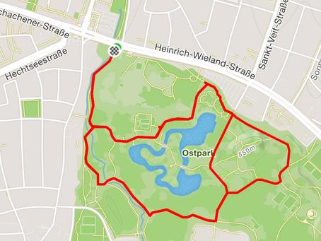 Laufstrecken München: 5 Kilometer durch den Ostpark