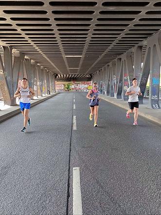 laufmotivation mit anderen Läufern