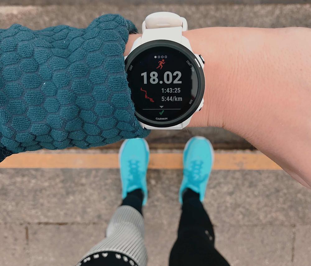 Longrun 18 Kilometer geschafft!