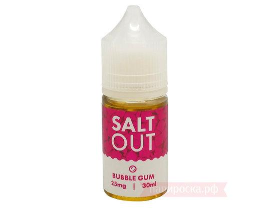 Жидкость Bubble Gum - Salt Out