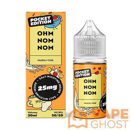 Жидкость Ohm Nom Nom Salt Muesli Time 30 мл (25 мг)