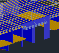 Model Isometric - Coutts Drafting