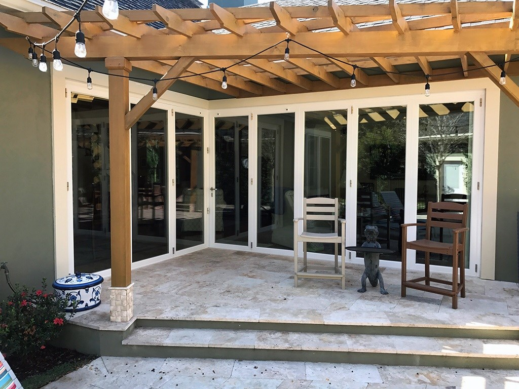 Custom Patio Door Installation