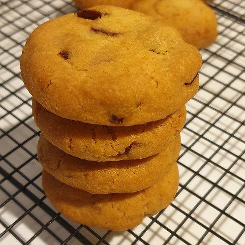 Cookies cranberries/chocolat