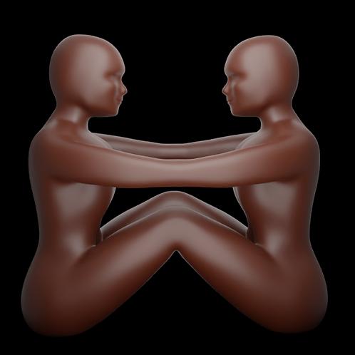 STL Arquivo 3D para impressão de Estátua