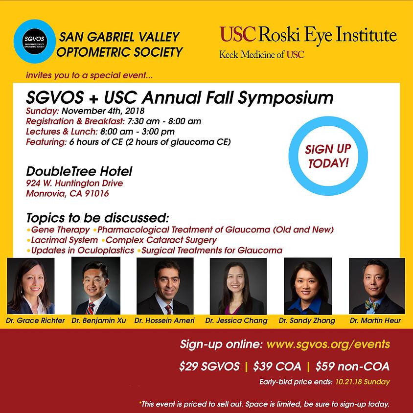 USC Annual Fall Symposium