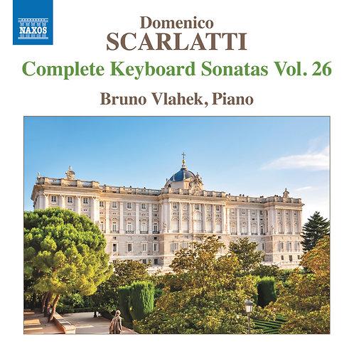 SCARLATTI KEYBOARD SONATAS CD - BRUNO VLAHEK