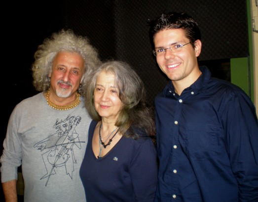 Mischa Maisky and Martha Argerich