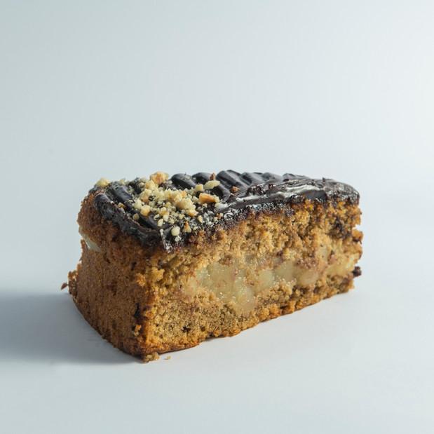 Chocolate, Apple & Hazelnut Cake
