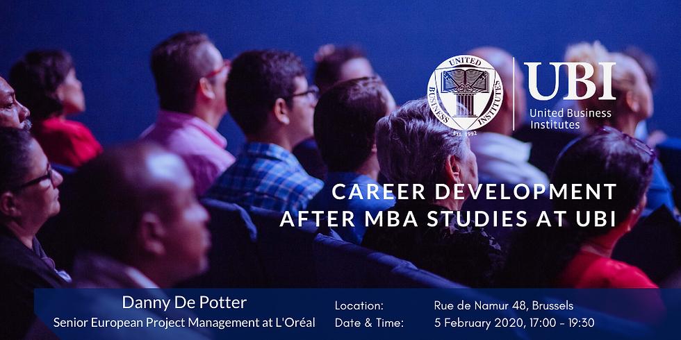 Career Development after MBA Studies at UBI