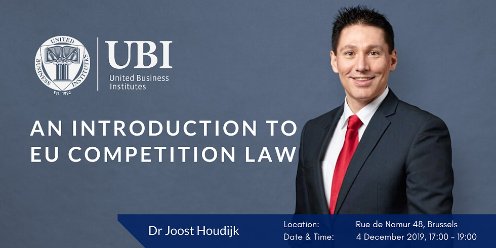 An introduction to EU Competition law: a brief survey of its origins, objectives and operation within the European Union