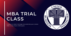UBI welcomes prospective students for our MBA Trial Classes 2020