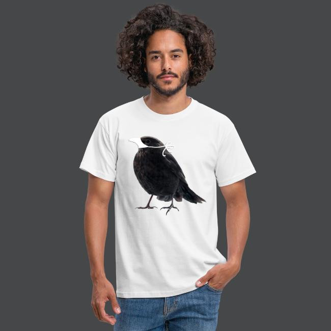 Maske Schutz Vogel Amsel