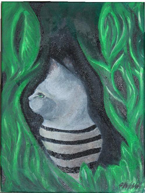 Streifen Katze