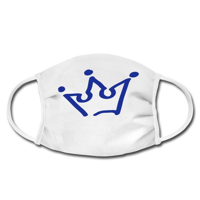 Gesichtschutzmaske mit Krone Crown Design