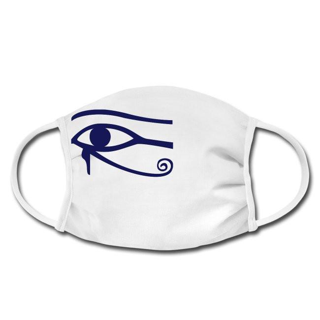 Gesichtschutzmaske mit Horus Auge Design