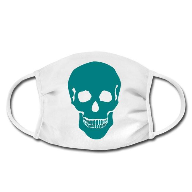 Gesichtschutzmaske mit Totenschädel Skull Design