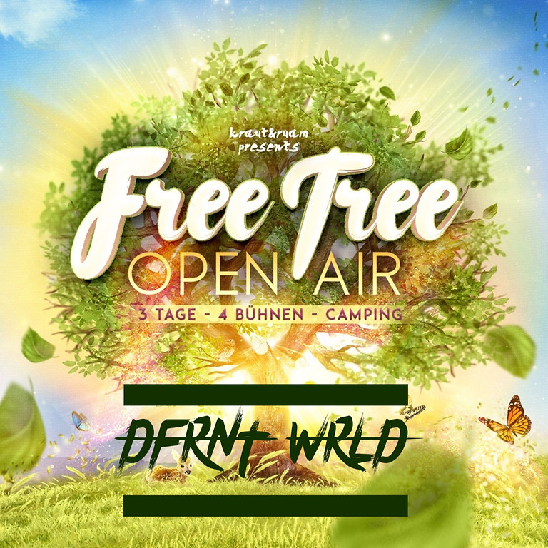 DFRNT WRLD @ FREE TREE OPEN AIR 2021