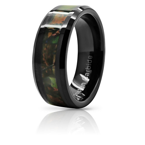 HUNTING CAMO TUNGSTEN CARBIDE RING