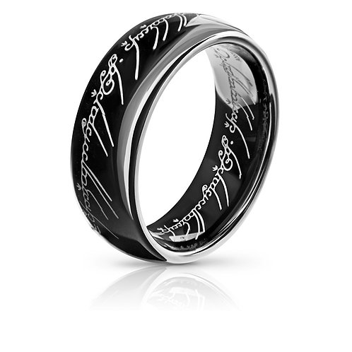THE ONE RING (TUNGSTEN) *LIMITED SPECIAL EDITION BLACK