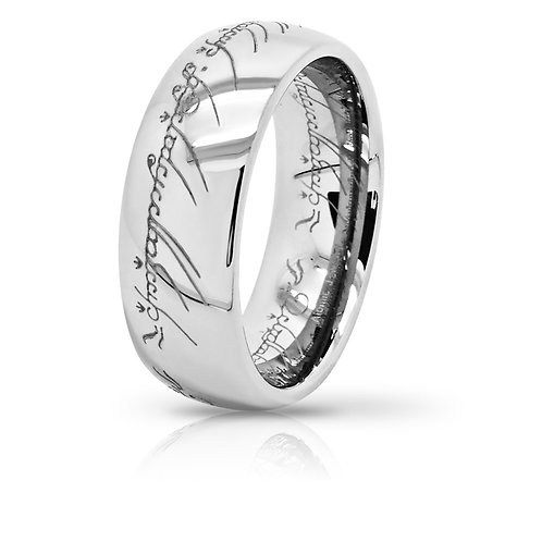 THE ONE RING (TUNGSTEN) *LIMITED SPECIAL EDITION SILVER