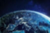 Telecommunication network above Europe v