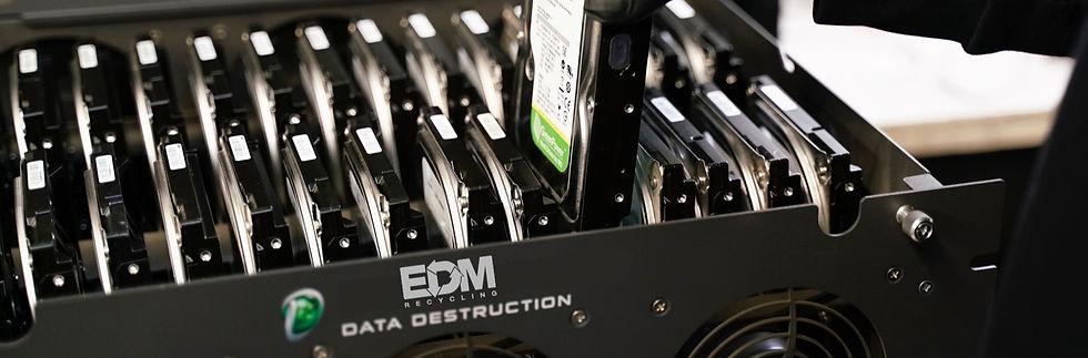 EDM Recycling Data Destruction