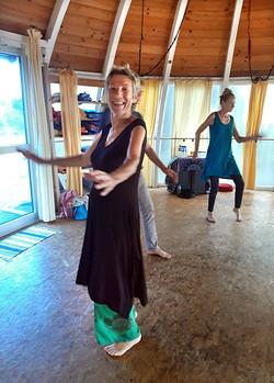 Lebensfreude beim Tanzen, La Palma