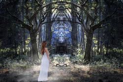 Begegnung, Fantasy, Magic of woman