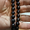 Thumbnail: Black Peacock Pearl Necklace Set