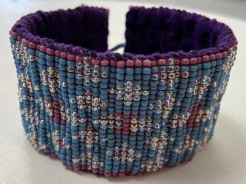 Bead Loom Cuff Bracelet